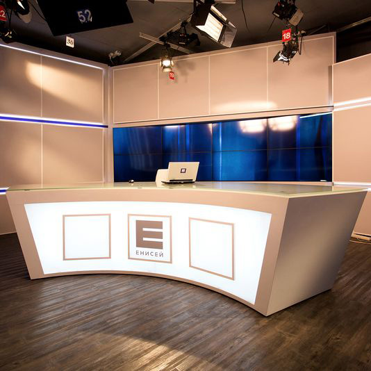 Студия телеканала «Енисей» 115 м2 г. Красноярск